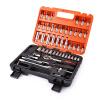 53pcs Auto Car Repair Tool Box Set Ratchet Wrench Sleeve Универсальный комбинированный комплект оборудования