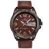 naviforce 9055 мужчин кожаный ремень часы кварцевые 30 водонепроницаемые часы мужские виды спорта chenxi мужские часы роскошные моды кварцевые часы мужские полные стальные водонепроницаемые часы