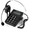 中诺(CHINO-E)C282 通话存储电脑录音话务耳机电话机(适用于话务员/客服/呼叫中心等) 黑色 集怡嘉 gigaset 原西门子品牌 2025c办公座机 家用电话机 黑色