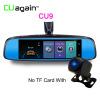 CU9 DVR 4G WIFI Remote Video Recorder Автомобильная камера GPS 8-дюймовое зеркало с двумя объективами Android Dash Cam ADAS Safe Car Registrar