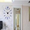 Настенные часы, современные безрамные DIY настенные часы 3D стена Смотреть не Ticking для гостиной Спальня Кухня