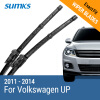 SUMKS Wiper Blades for Volkswagen UP 24&16 Fit Push Button Arms 2011 2012 2013 2014