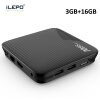 iLEPO M8S Pro L Android 7.1 Smart TV Box Amlogic S912 64 bit Quad Core H.265 4K HD WiFi TVcenter 17.3 IPTV Set-top Player Box ударная дрель black
