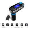 Bluetooth Car Kit FM Transmitter Handfree Car MP3 Audio Player with Dual USB Car Charger Support USB SD TF Card cq 004 1 5 led car fm transmitter mp3 player w tf sd usb remote controller black red