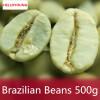 C-TS007 500г Бразилия Зеленый кофе в зернах 100% оригинальный высококачественный зеленый кофе для похудения чай зеленый чай для похудения чай кофе и какао
