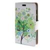 MOONCASE чехол для Alcatel One Touch Pixi 3 (4.0) OT-4013D Leather Flip Wallet Style and Kickstand Case Cover Design / a19 alcatel ot 4013d pixi 3 black pink