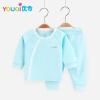 Cute Baby Boy Одежда Хлопок Девочка с длинным рукавом 3 6 9 18 месяцев Малыш Детская пижама Одежда Костюм Весна Летняя одежда