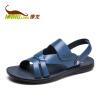 Kang Long мужские модели открытые носки повседневная пляжная обувь черный 253117350 43 ярдов носки запорожец heritage запорожец heritage za008fmbfsk9