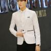 Мужская мода Blazer Casual Suit Slim Fit куртка свадебное платье blazer bendorff blazer