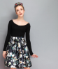 Lovaru ™2015 Осенью новая мода печати Тонкая талия юбки короткие юбки женщин моды soilid юбка