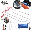 PDR Крючки набор инструментов Paintless для ремонта вмятина набор инструментов для удаления автомобиля клин резиновый молоток
