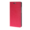 MOONCASE Leather Side Flip Wallet Card Holder Stand Shell Pouch ЧЕХОЛДЛЯ Huawei Ascend P8 Lite Hot pink ecostyle shell чехол флип для huawei ascend d2 black