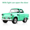 Cool Toy Car Die-casting alloy car back Sound And Light Toy Car Can Open The Door Car Styling Classic Cars Car model Kids Toys