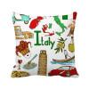 италия landscap животных национальный флаг площадь бросить подушку включить подушки покрытия дома диван декор подарок