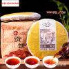 Высокое качество спелых пуэр, чай puer здравоохранения 100g, чай для похудения Meng Hai старое дерево чая, материалы гу-шу