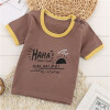 2018 Детская футболка с хлопком Детская летняя футболка с короткими рукавами для мальчиков Одежда для девочек Футболка для мальчиков Топы для малышей