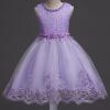 Прекрасные кружевные аппликации Бисероплетение Платья для девочек Платья для детей Платья для новорожденных Свадебные платья для первого причастия vestido comunion платья