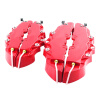 Racing Universal ABS Car Rear 3D Disc Red Brake Caliper Cover auldey 88010 abs racing car kit
