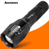 Zoom LED Flashlight 1000 Lumens 10W Tactical CREE T6 Police Flashlight Super Bright Handy Torch Powerful Torchlight Lamp transctego t6 led tactical flashlight 18650 long range zoom waterproof outdoor xenon lamp strong light rechargable torch light