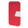 все цены на MOONCASE Galaxy J1 , Leather Flip Bracket Back ЧЕХОЛ ДЛЯ Samsung Galaxy J1 Hot pink White онлайн