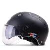 Mustang (Yema) 332 мотоциклетный шлем электрический автомобиль Harley половина шлем мужчин и женщин Four Seasons двойной объектив батареи автомобиля Азиатский черный шлем лето Размер мото шлем mustang 619