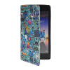 MOONCASE Cute Pattern Leather Side Flip Wallet Card Slot Pouch Stand Shell Back ЧЕХОЛДЛЯ Huawei Ascend P7 ecostyle shell чехол флип для huawei ascend d2 black