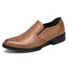 DJSUNNYMIX 2018 Деловые Мужские Обычные Плоские Обувь Кожаные Нежные Свадебные Платья Обувь Официальная Обувь Обучения Британские Мужчины Повседневная обувь обувь go do