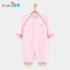 YOUQI Quality Baby Boy Clothes Girl Rompers Unisex Newborn Toddler Infant Costumes 3 6 18M Pajamas Clothing Autumn Baby Clothes 3pcs set newborn baby girl clothes 2017 summer off shoulder crop tops bottom headband outfits bebek giyim children clothing set