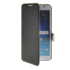 MOONCASE Ultra thin matte surface Leather Wallet Flip Holster Pouch Stand Back чехол для Samsung Galaxy S6 Edge Black ultra slim clear phone cases for samsung galaxy s6