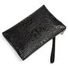 Danjue Мужская Мода Сумочка Аллигатор Натуральная кожа клатч Бизнес на молнии удобная сумка кошелек Дизайн кожаный бумажник прозрачный клатч на алиэкспресс