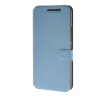 MOONCASE Ultra thin matte surface Leather Wallet Flip Card Slot Holster Pouch Stand Back чехол для HTC One M9 Blue mooncase ultra thin matte surface leather wallet flip holster pouch stand back чехол для htc one m9 m9 plus hot pink