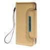 MOONCASE Wrist Strap Multi Purpose Flip Leather Wallet Card Pouch Back чехол для Apple iPhone 6 ( 4.7 inch ) Gold mooncase premium pu flip leather wallet card pouch back чехол для cover apple iphone 6 4 7 красный