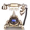 Желание (Crave) F015 / Ocean Star ретро старинные телефоны фиксированной телефонной линии Европейский старший бронзовый