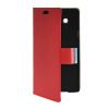 MOONCASE Slim Leather Side Flip Wallet Card Slot Pouch with Kickstand Shell Back чехол для Samsung Galaxy A7 Red mooncase slim leather side flip wallet card slot pouch with kickstand shell back чехол для samsung galaxy a7 beige