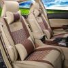 Универсальные автомобильные сиденья Обложки Кожа и Лед Шелк Авто Подушка Набор для Ford Focus Fiesta Volkswagen Polo Tiguan Easy Cleaning Cool универсальные чехлы на авто