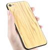 Feichuang Apple 8 мобильный телефон чехол iPhone7 / 8 защитная крышка iphone дерево зерно стеклянная раковина мелкой сосны защитная раковина