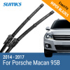 SUMKS Wiper Blades for Porsche Macan 26&20 Fit Push Button 2014 2015 2016 2017