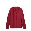 2017 элегантные блузки женские офисные Рубашки для мальчиков Шифоновая блузка рубашка Для женщин корейская мода Blusa Повседневное