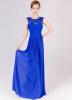 Robe De Soiree 2018 Tulle Pearls Длинные вечерние платья Элегантные платья для выпускного вечера на шею