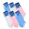 [Супермаркет] Jingdong NBA женские носки лодки спортивные носки женщин носки сплошной цвет хлопка носки леди носки NBA LoGo носки невидимые носки установлены 6 пар nba 53 38cm