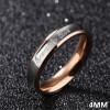 Кубические циркониевые кольца для мужчин Свадебные и обручальные кольца для мужчин