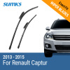 SUMKS Wiper Blades for Renault Captur 26&16 Fit Bayonet Arms 2013 2014 2015 2016 2017 2018
