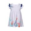 Цветочные печати платье Котенок и бабочка платье милые девушки платье летнее платье 2018 мода детское платье летнее платье baby girl платье милые девушки платье партии платье платье