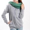CT&HF Женщины Движение Стиль Мода руно Корея Отдых контракту руно зима толстой сплошной цвет молния пальто