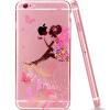 Пицца Apple iPhone6s Plus / 6PLUS мобильный телефон оболочка окрашены мультфильм анти-бросания оболочки алмаз фея 5.5 дюймов алмаз алмаз 1020