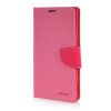MOONCASE Cross pattern Leather Wallet Flip Card Slot Pouch Stand Shell Back ЧЕХОЛ ДЛЯ Sony Xperia T3 Hot pink sony xperia t3