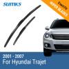 SUMKS Wiper Blades for Hyundai Trajet 26&22 Fit Hook Arms 2001 2002 2003 2004 2005 2006 2007 sumks wiper blades for hyundai trajet 26