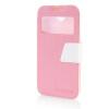 MOONCASE View Window Leather Side Flip Pouch Ultra Slim Shell Back ЧЕХОЛДЛЯ HTC Desire 310 D310W Pink htc desire 650