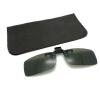 S / M / L Unisex Square Поляризованные клипы для очков Cool Sunglasses Clip-on Flip-up пуловер s cool
