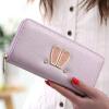 Rabbit Ears New Fashion Long Zipper Кошелек PU Кошелек для бумажника для женщин